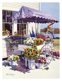 Flower Peddler Poster by Erin Dertner