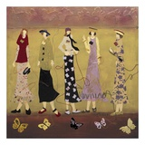 A Walk In Spring Print by Genevieve Pfeiffer