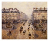 The Avenue De L'Opera Posters by Camille Pissarro