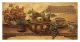 Fruit Still Life Panel Prints by Shari White