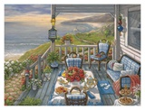 Sea Side Inn Affiches par Janet Kruskamp