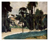 A Way In A Path Prints by Paul Cézanne