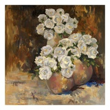 White Rose Posters af Lorrie Lane