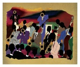 Big Band Art by Leroy Campbell
