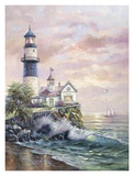Lighthouse Picture Poster by Carl Valente