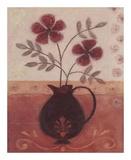 Fleur De Lys I Poster by Jennifer Carson