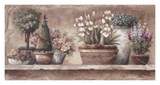 Antique Blooms Prints by Alma Lee