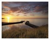Mid Summer Sunset Print by John Potter