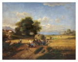 Harvest Celebration Print by A. Weller