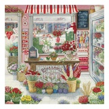 Blossom's Flower Shoppe Art by Janet Kruskamp