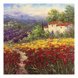 Fleur Du Pays II Prints by  Hulsey