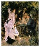 Au Jardin Du Moulin Posters by Pierre-Auguste Renoir