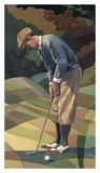 Classic Golf Prints by Marv Brehm