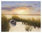 Beach Hideaway Print by Diane Romanello