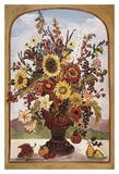 Autumn Vase Poster by Suzanne Etienne
