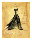 Paris Fashion Posters by Jennifer Sosik