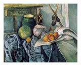 A Still Life Aubergines Posters by Paul Cézanne