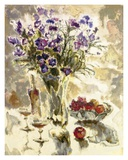 Still Life In Lavender Art by  Yona