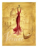 Venice Fashion Print by Jennifer Sosik