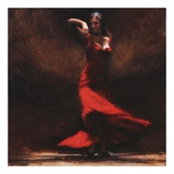 Passion of Flamenco Print by Amanda Jackson