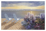 Deck View Print by Diane Romanello