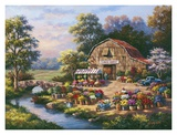 Flower Market Prints by Sung Kim