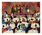 No Man's Band Bops At Mintons Kunst af Leroy Campbell