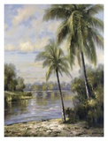 Island Tropics II Art by Hannah Paulsen