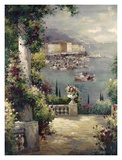 Capri Vista I Prints by Peter Bell