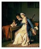 La leçon de musique Affiches par Marguerite Gerard