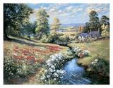 An English Cottage Garden Posters by Bernard Willington