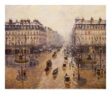 The Avenue De L'Opera Art by Camille Pissarro