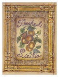 Peaches of Sicily Art by Shari White