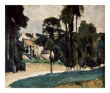 A Way In A Path Posters by Paul Cézanne