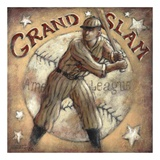Grand Slam Print by Janet Kruskamp
