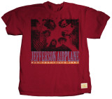 Jefferson Airplane - Birds Eye View T-shirts by Jim Marshall