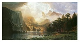 Sierra Nevada in California Print by Albert Bierstadt
