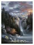 Misty Falls Prints by James Lee