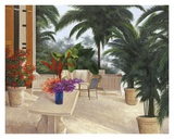 Private Patio Posters by Diane Romanello