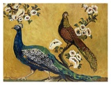 Peacocks Prints by Suzanne Etienne