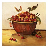Bowl of Cherries Prints by Suzanne Etienne