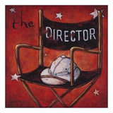 The Director Poster by Janet Kruskamp