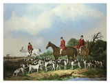 The Old Berkshire Hunt Prints by  Goode