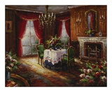 Fireside Supper Prints by  Foxwell