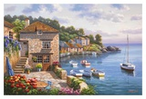 Harbor Garden Prints by Sung Kim