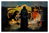 Shotgun Hospitality Poster by Frederic Sackrider Remington