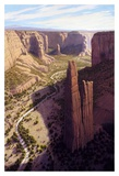 Spider Rock in the Morning Prints by Ann Mcleod