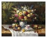 Classic Floral Still Life Affiche par  Janek