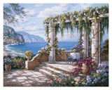 Floral Patio II Posters by Sung Kim