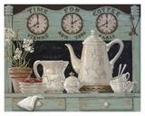 L'heure du café Art par Janet Kruskamp